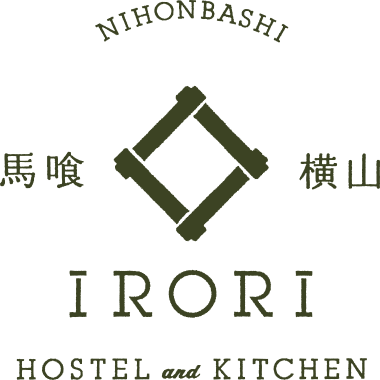 IRORI HOSTEL and KITCHENのロゴ